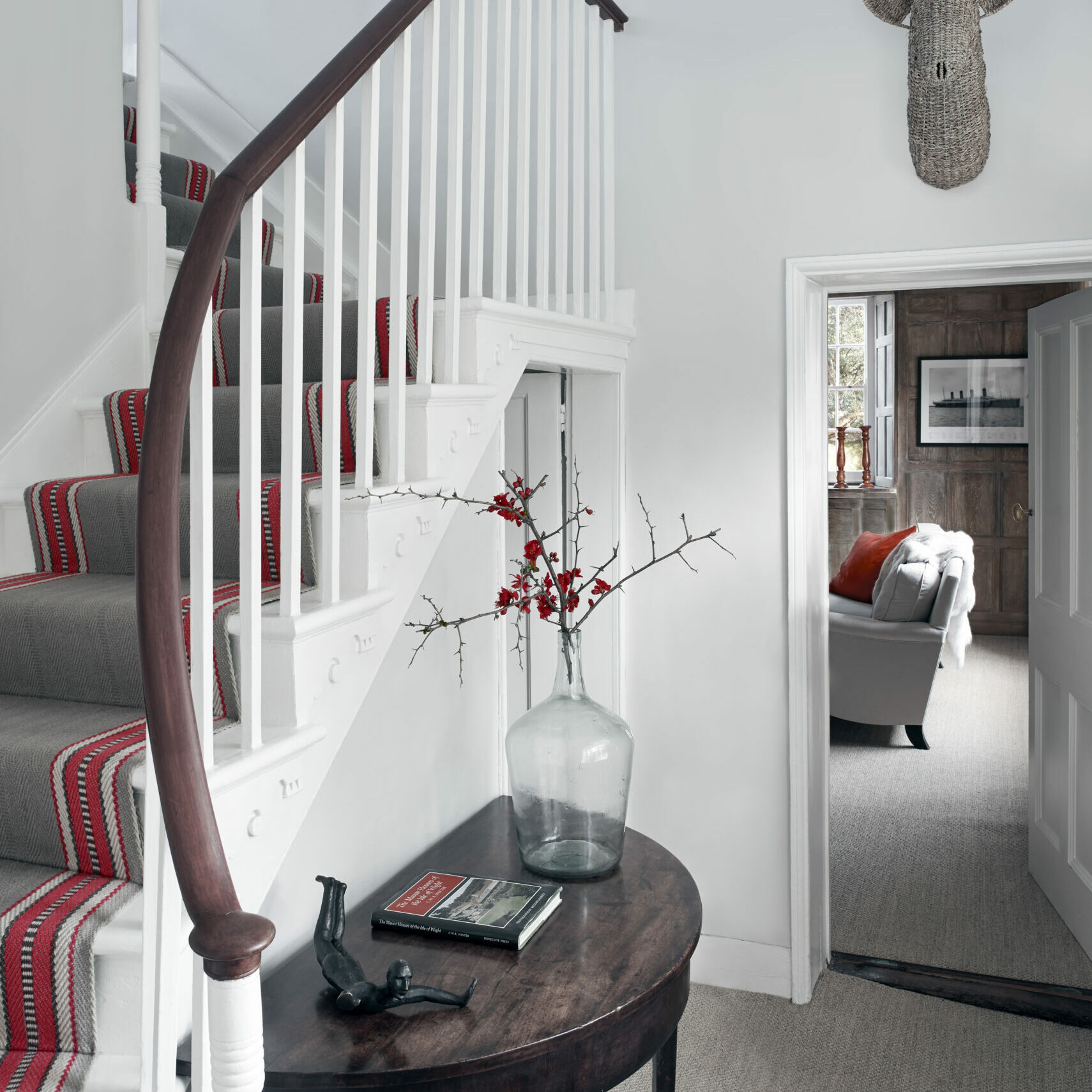 4. Stair case view to drawing room